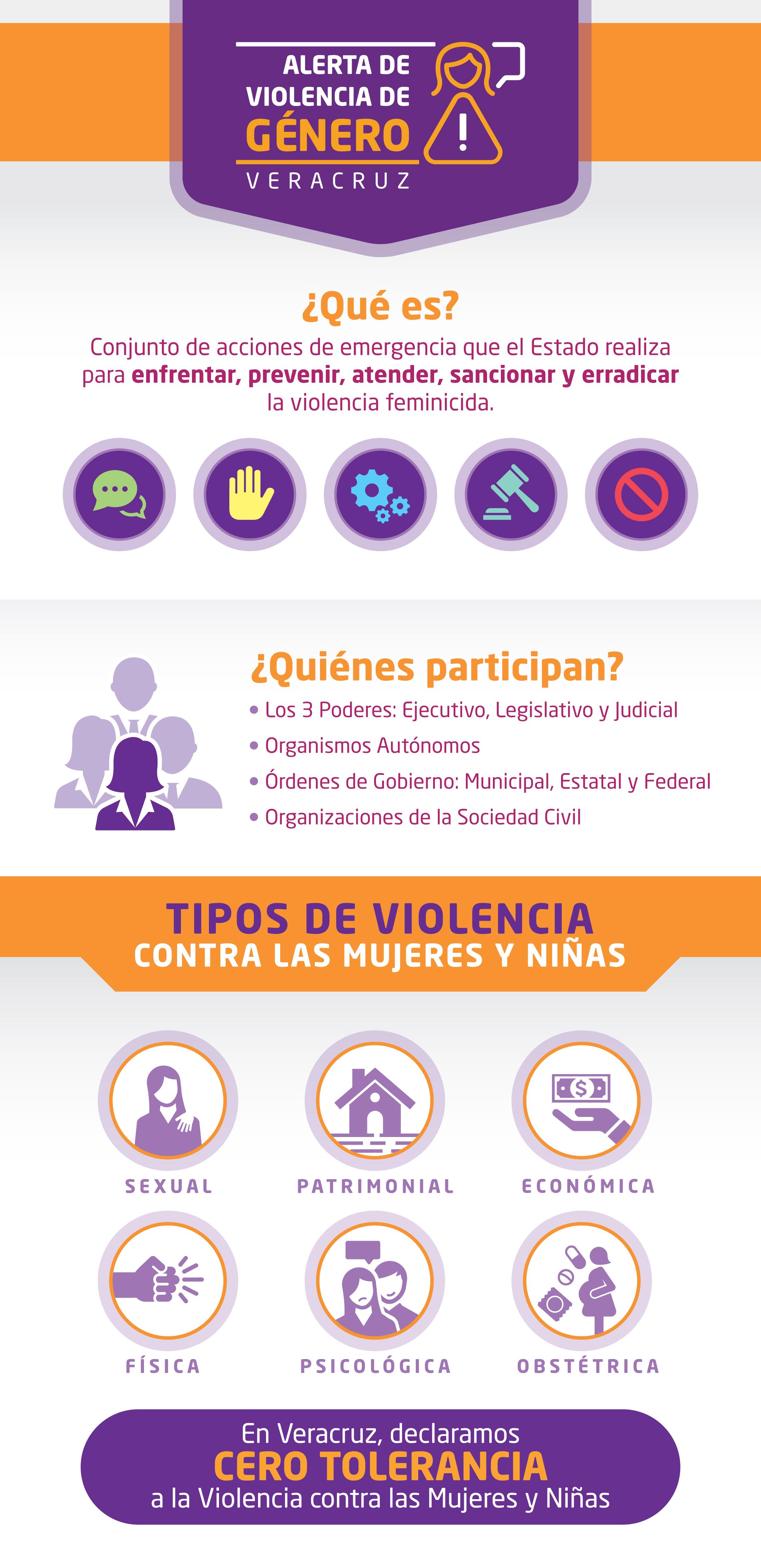 Infografía Tipos de Violencia